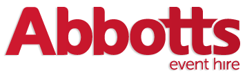 Logo for Abbotts Event Hire