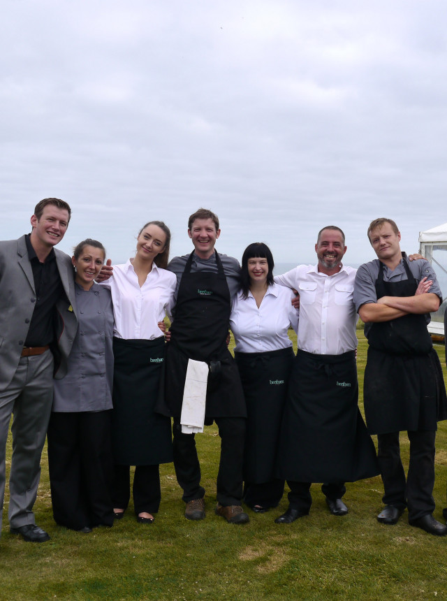 A photo of the incredible team who make Beetham Food what it is today.