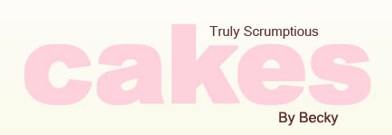 Logo of Truly Scrumptious Cakes, by Becky.