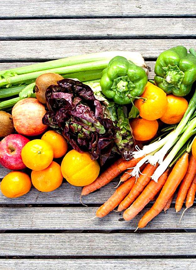 Mixed vegetables.