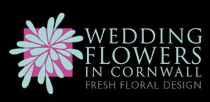 Logo for Wedding Flowers in Cornwall, fresh floral design.