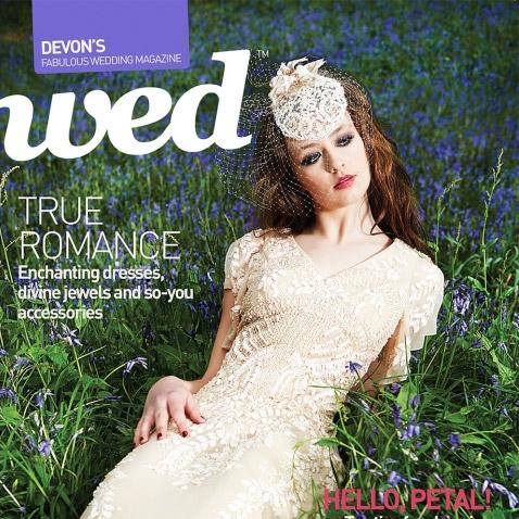 Logo for Wed Magazine in Devon