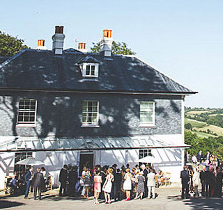 Photo of a wedding venue Beetham food have catered at; The Vean, Caerhays